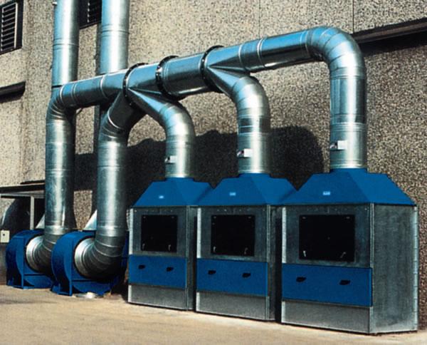 Plafoniere Per Cabine Di Verniciatura : Gruppi di filtrazione aria per cabine verniciatura imas
